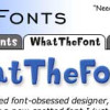 画像から使用フォントを検索してくれるWEBサービス「myfonts」