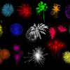 花火を簡単に再現できるphotoshopブラシセット30「30 Brilliant Photoshop Fireworks Brushes」