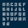 フリーで使える 56アルファベットが揃ったモノグラムモチーフ「56 Awesome Vector Monograms」