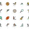 迫るリオオリンピック関連のデザインに最適なフリースポーツアイコンまとめ「20+ Sports-Related Freebies to Design for the Olympics」