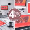 PCなどがあるワークスペースをテーマにしたフリーモックアップ集「40+ Free Workspace Mockups for Photorealistic Presentations」