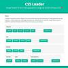 CSSのみで制作されたローディングアニメーションセット「CSS Loader」