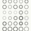ベクターデータで利用できる幾何学的な曼荼羅アートワーク「100 Vector Mandala Illustrations」