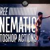 Photoshopで使える映画のような写真を創るためのアクションセット「12 Free Cinematic Photo Effect Actions」