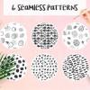 汎用性の高いシームレスパターンセット「Atmosphere Seamless Patterns」
