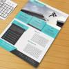 広報の役に立つ デザイン性の高い企業向けフライヤーテンプレートまとめ「10 Professional Free Corporate Flyer Templates」