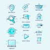 スマートフォンのUIデザインにも最適な高解像度アイコンまとめ「1700+ Free Icons for Web, iOS and Android UI Design」