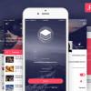 モバイル向けデザインテンプレートまとめ「8 Fresh & Free Mobile App PSD Templates」
