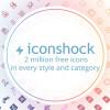 ラインアイコンから3D風アイコンまで オススメのiconshockのアイコンをまとめた「Because Size Matters: 2 Million Free Icons From Iconshock」