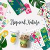 ポップでカラフルなトロピカルベクター素材キット「Tropical Nature Kit」