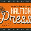 レトロな演出に最適なハーフトーンのPhotoshopアクションキット「Halftone Press Photoshop Kit」