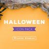 ハロウィーンにピッタリ!可愛らしいハロウィーンイラストのアイコンセット「Freebie: Halloween Icon Pack (SVG & PNG)」