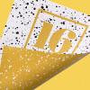 スプレーを吹きかけたようなテクスチャ素材「16 Sprayed Vector Textures」