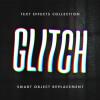 エラー表示をアートに表現したグリッチエフェクト「 Crashed Glitch Text Effects」