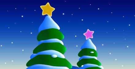 クリスマスツリーの描き方