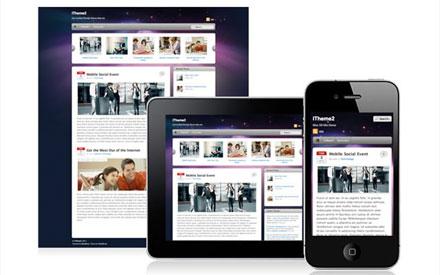 iPhone,iPadにも対応したWPテーマ02