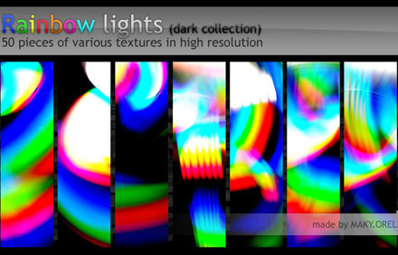 TEXTURES-Rainbow-lights-dark-collection-298686465