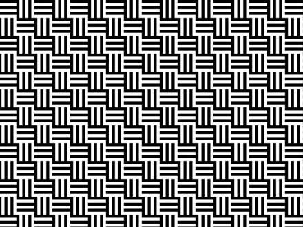モノトーンのさまざまなパターンが揃う「32 Unique Black And White Patterns ...