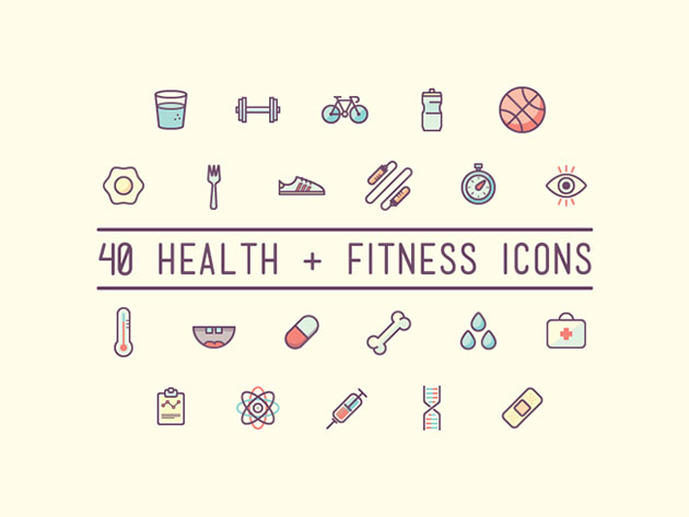 health-and-fitness-icons