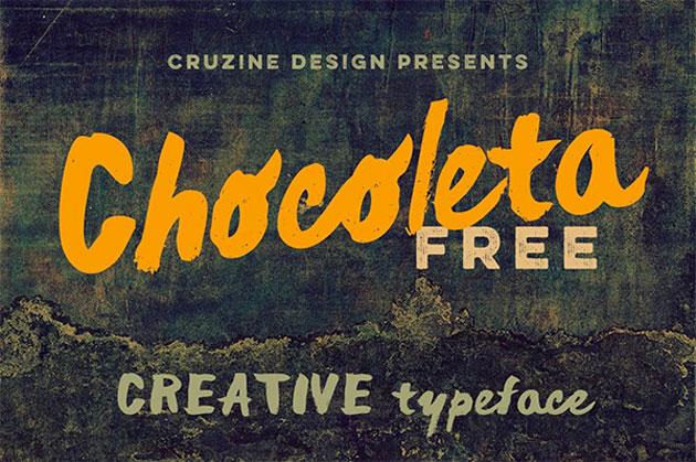 2-free-brush-font