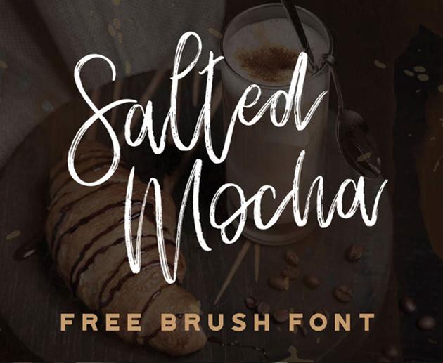 Salted_Mocha_free_font