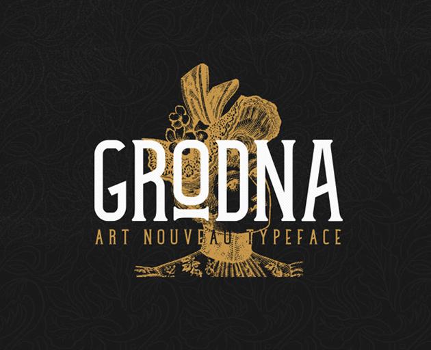 Grodna_Free_Font
