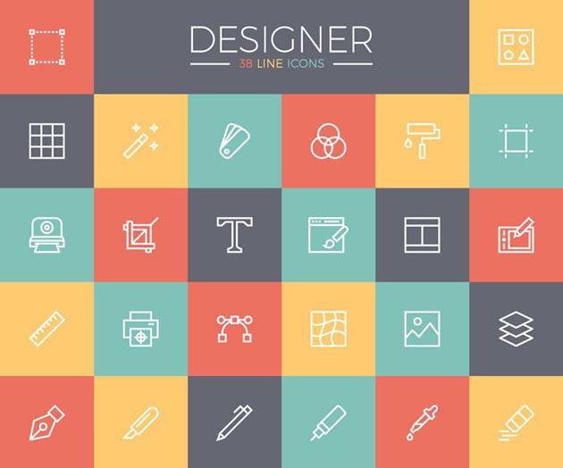 最新トレンドのスタイリッシュなデザインアイコンまとめ 10 fresh icon