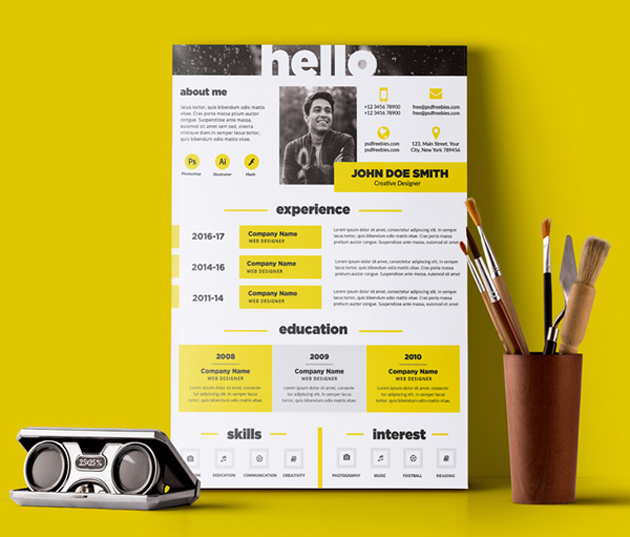 free_resume_template_top