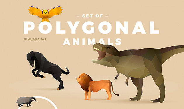 polygonal-animals-set1