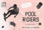 PoolRidersTypeface_top