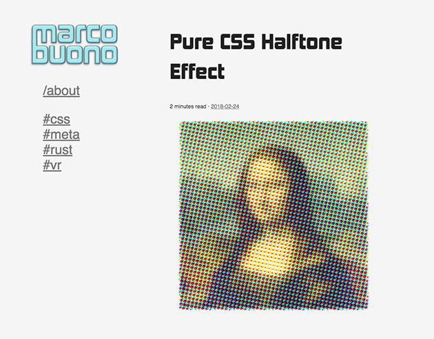 PureCSSHalftoneEffect