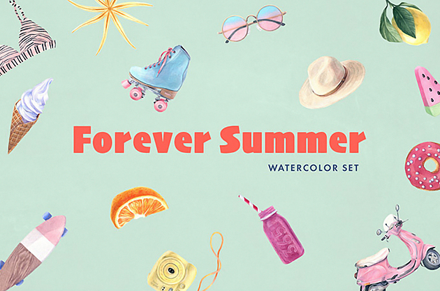 forever-summer-watercolor-set1