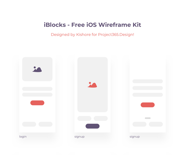 iios-wireframe-kit