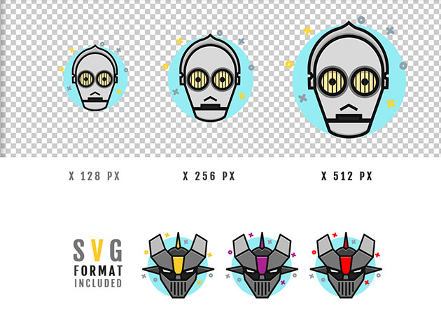 robot_icons_set_3