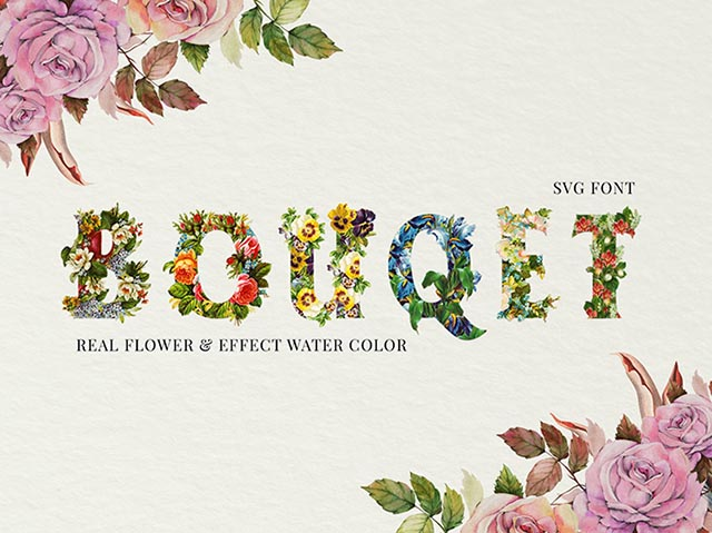 FlowerBouquet_SVGFont_top