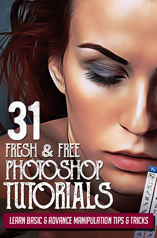31 Fresh New Photoshop Tutorials1