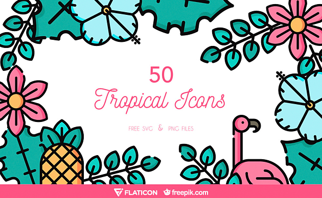 the-free-tropical-icon-set