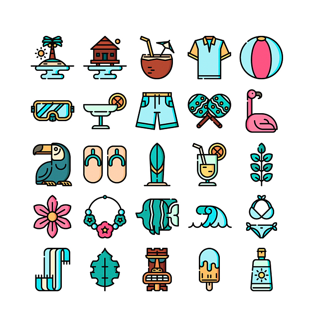 the-free-tropical-icon-set2