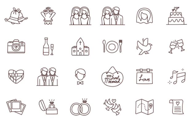 24-Wedding-icons-freebie-set