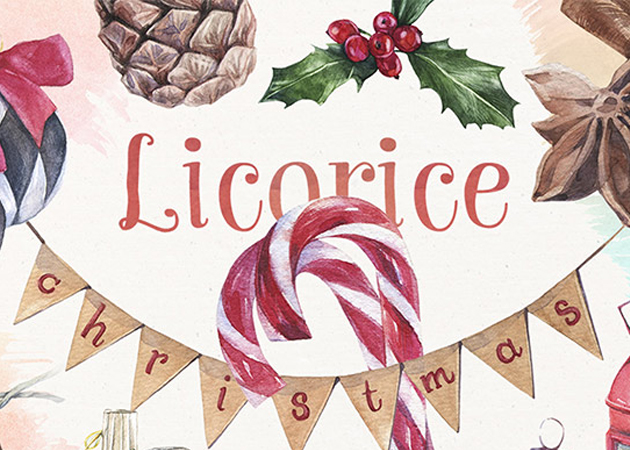 Licorice Christmas kit _1